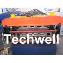 Manual Or Automatical Type Double Layer Roofing Sheet Forming Machine With 0 - 15 M/min