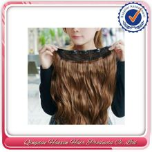 No Shedding No Mix No Tangle Clip-On Skin Weft Seamless Hair Extension