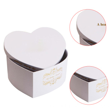 Offset Paper Empty Heart Chocolate Bar Packaging Box