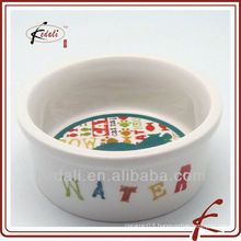 2011 new style porcelain pet bowl