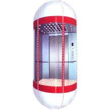 Cabina semicircular para ascensor panorámico