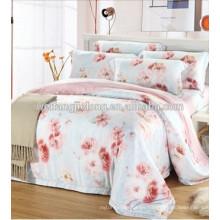 Tejido 100% algodón estampado para sábana y colchón a tela de algodón / pavo
