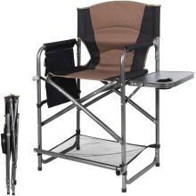 Portable beauty makeup artists Tall Directors Chair