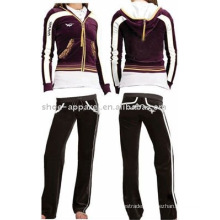 top fashion velour track suit