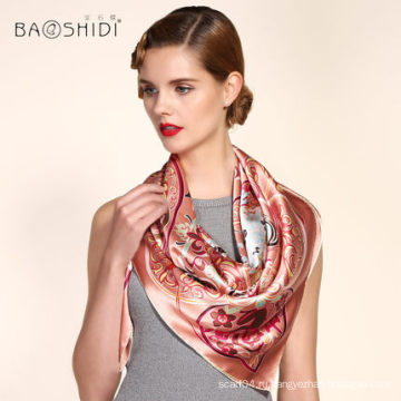 100% шелковый шарф
