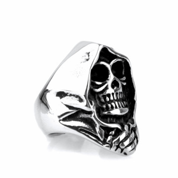 Mode religion skull finger ring
