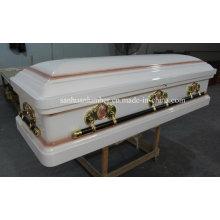 Coffrets / cercueil en bois de Style New & cercueil (Wm-01)