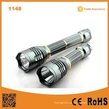 10W Xml T6 LED de alta potencia de aluminio de aluminio antorcha