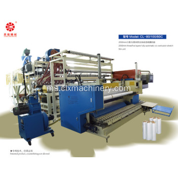 Popular PE Wrapping Film Extruder regangan filem Mesin