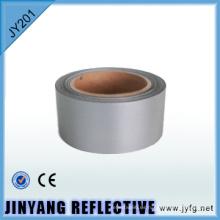 tejido de poliéster de plata de la pantalla de proyección reflexiva