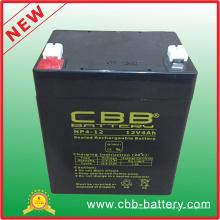 La plus populaire 12V4ah UPS Batterie pour le système solaire 12V4ah Batterie au plomb-acide de stockage Moto