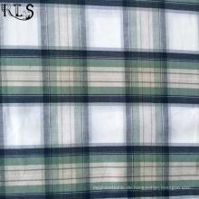 Baumwoll-Popeline gewebten Garn gefärbtes Gewebe für Bekleidung Shirts/Kleid Rls40-1po