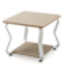 Mesa de té de oficina de madera de diseño moderno