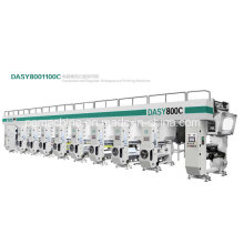 Machines d'impression à haute vitesse 8 couleurs à rotogravure (150 m / min)