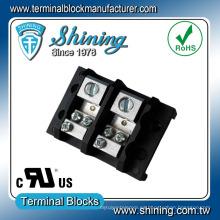TGP-085-02JSC Distribución de energía 85A Conector de bloque de terminales 2P de 3 hilos