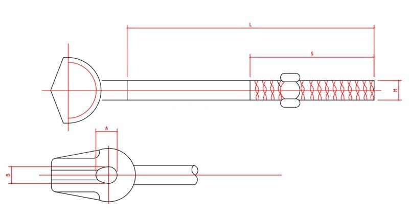 Anchor Rod drawing