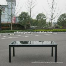 Алюминий 10 местный обеденный стол с расширением