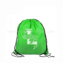 Одноразовые полноцветная печать нетканые рюкзаки, тяжелая хозяйственная сумка nonwoven, производство нетканых тянуть строка рюкзак