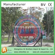 hottest amusement park rides exercise equipment human gyroscope manufacturer