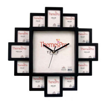 Art Photo Frame Clock with Modern Design (IH-4605B)