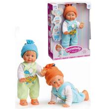En71 одобрение B / O игрушки Кукла может ходить и ползать с музыкой (10145895)