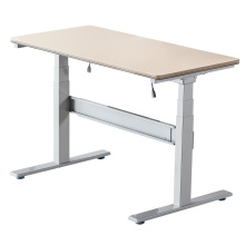 2 Legs Lifting Column Adjustable Standing Desk