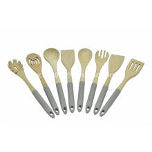 8pcs wooden kitchen tools set