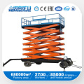 Four Wheel X-Lift Platform/ X-Lift Table