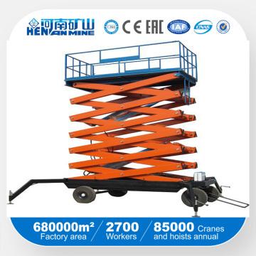 Tijera de cuatro ruedas Tipo Mesa de elevación móvil (SJY)