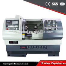 single / independent spindle servomotor lathe cnc machines CK6136A-2