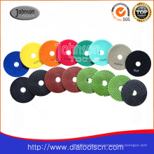 100mm Wet Polishing Pad for Stone