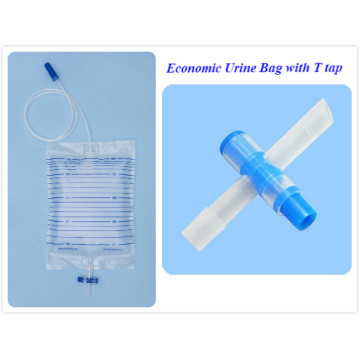 Medical Plastic Bag with Cross Valve
