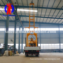 Gasoline engine mini water well drilling machine exploration sampling drilling rig for sale