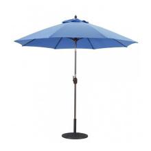 Outdoor Aluminum Frame Round Market Sun Umbrella