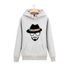 Schwere Baumwollmischung OEM Custom Crewneck Sweatshirt und Hoodies