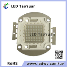 LED UV 375nm 395nm 405nm 100W, LED UV de alta potência