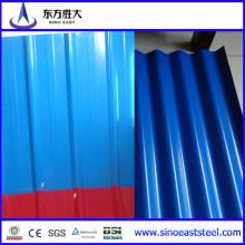 Hoja de techos de zinc galvanizado