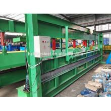 Machine de cisaillement et de cisaillement en acier métallique de 6 m