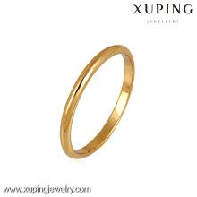 10776 Xuping anillos dorados sin piedra