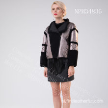 Lady Short Spain Merino Shearling jack
