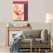 Decoração da arte da parede da pintura de Marilyn Monroe