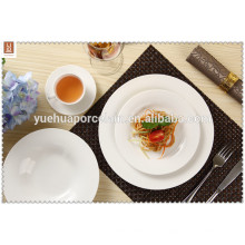 2015 China Ceramic White Hotel verwendet Bulk Dinner Plate