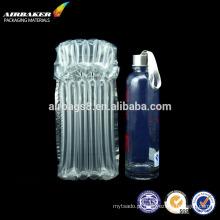 Saco de ar de bolha inflável promocional alta qualidade proteção para copos