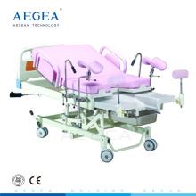 AG-C310 Krankenhaus weibliches Wiederaufnahmepflegesystem ökonomisches elektrisches Geburtsbett der Geburt Geburt