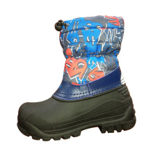 TPR Outsole Snow Boots for Kids