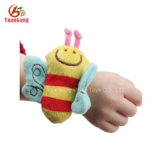 Dongguan plush toys with baby wrist rattle