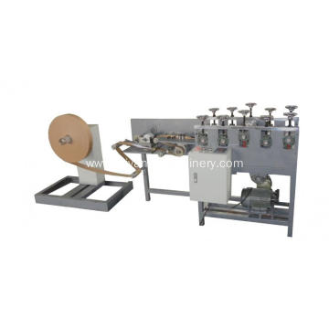 Flat paper rope cutting machine