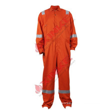 Cotton flame retardant protective coverall