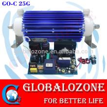 high voltage ceramic tube ozone generator with transformer 15g 20g 25g