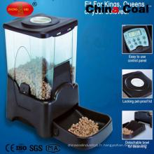 Nourrisseur automatique de nourriture pour animaux de compagnie